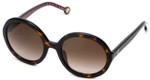 Carolina Herrera Designer Sunglasses SHE696-0722 in Havana with Brown Gradient Lens