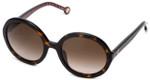 Carolina Herrera Designer Sunglasses SHE696-0722 in Havana with Brown Gradient Lens