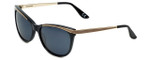 Corinne McCormack Designer Sunglasses Brighton Beach in Black 58mm