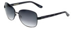 Corinne McCormack Designer Sunglasses Jones Beach in Black 58mm