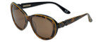 Corinne McCormack Designer Sunglasses Long Beach in Leopard 56mm