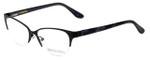 Corinne McCormack Designer Eyeglasses Gramercy in Black 52mm :: Custom Left & Right Lens