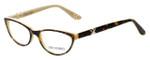 Corinne McCormack Designer Eyeglasses Riverside in Tortoise-Peach 52mm :: Custom Left & Right Lens