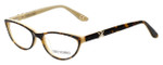 Corinne McCormack Designer Eyeglasses Riverside in Tortoise-Peach 52mm :: Rx Single Vision