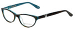 Corinne McCormack Designer Eyeglasses Riverside in Tortoise-Teal 52mm :: Rx Single Vision