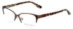 Corinne McCormack Designer Eyeglasses Gramercy in Brown 52mm :: Progressive