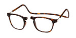 Clic Magnetic Eyewear Regular Fit Manhattan in Tortoise :: Custom Left & Right Lens