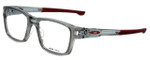 Oakley Designer Eyeglasses Splinter OX8077-0352 in Grey-Cardinal 52mm :: Custom Left & Right Lens