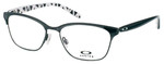 Oakley Designer Eyeglasses Intercede OX3179-0152 in Black 52mm :: Progressive