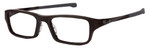 Oakley Designer Eyeglasses Chamfer OX8039-0449 in Brownstone 49mm :: Progressive