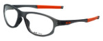 Oakley Designer Eyeglasses Crosslink OX8048-0456 in Satin-Grey-Smoke 56mm :: Progressive