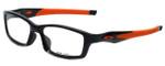 Oakley Designer Eyeglasses Crosslink OX8027-1153 in Black 53mm :: Rx Bi-Focal