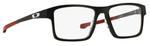 Oakley Designer Eyeglasses Chamfer 2  OX8040-0552 in Black 52mm :: Rx Bi-Focal