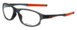Oakley Designer Eyeglasses Crosslink OX8048-0456 in Satin-Grey-Smoke 56mm :: Rx Bi-Focal