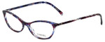 Chanel Designer Eyeglasses 3337-1491 in Purple-Blue 55mm :: Custom Left & Right Lens
