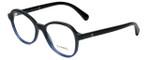 Chanel Designer Eyeglasses 3340-1558 in Black-Blue 51mm :: Rx Single Vision