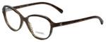 Chanel Designer Eyeglasses 3316-1514 in Brown-Stripe 52mm :: Progressive