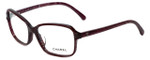 Chanel Designer Eyeglasses 3317A-1517 in Wine 54mm :: Progressive