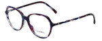 Chanel Designer Eyeglasses 3338A-1491 in Purple-Navy 53mm :: Progressive