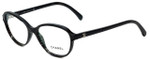 Chanel Designer Eyeglasses 3316-1516 in Black 52mm :: Rx Bi-Focal