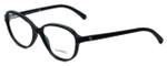 Chanel Designer Eyeglasses 3316-501-52mm in Matte-Black 52mm :: Rx Bi-Focal