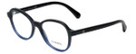 Chanel Designer Eyeglasses 3340-1558 in Black-Blue 51mm :: Rx Bi-Focal