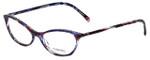 Chanel Designer Reading Glasses 3337-1491 in Purple-Blue 55mm
