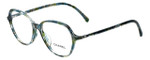 Chanel Designer Reading Glasses 3338A-1522 in Turquoise-Green 53mm