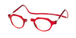 Clic Magnetic Eyewear Regular Fit Metro in Red :: Progressive