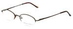 Adrienne Vittadini Designer Eyeglasses AV6008-158 in Brown 49mm :: Custom Left & Right Lens
