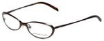 Adrienne Vittadini Designer Eyeglasses AV6040-170 in Brown 51mm :: Custom Left & Right Lens