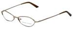 Adrienne Vittadini Designer Eyeglasses AV6059-197 in Gold 50mm :: Custom Left & Right Lens