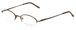 Adrienne Vittadini Designer Eyeglasses AV6008-158 in Brown 49mm :: Rx Single Vision