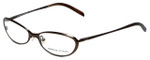 Adrienne Vittadini Designer Eyeglasses AV6040-170 in Brown 51mm :: Rx Single Vision