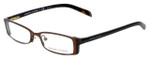 Adrienne Vittadini Designer Eyeglasses AV6065-214S in Brown 50mm :: Rx Single Vision