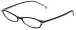 Adrienne Vittadini Designer Eyeglasses AV7008-617 in Black-Pink 50mm :: Rx Single Vision