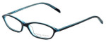 Adrienne Vittadini Designer Eyeglasses AV7019-622 in Black-Blue 49mm :: Rx Single Vision