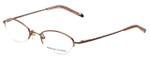 Adrienne Vittadini Designer Eyeglasses AV6047-173 in Rose-Gold 47mm :: Progressive