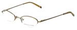 Adrienne Vittadini Designer Eyeglasses AV6047-174 in Gold 47mm :: Rx Bi-Focal