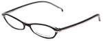 Adrienne Vittadini Designer Reading Glasses AV7008-617 in Black-Pink 50mm