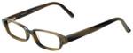 Vera Wang Designer Eyeglasses Splendor in Olive 49mm :: Progressive