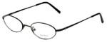 Vera Wang Designer Eyeglasses V112 in Black 50mm :: Progressive