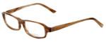 Vera Wang Designer Eyeglasses V147 in Brown 52mm :: Progressive