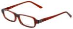 Vera Wang Designer Eyeglasses V147 in Burgundy 52mm :: Progressive