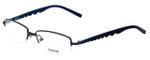 Reebok Designer Eyeglasses R1001-Navy in Navy 52mm :: Custom Left & Right Lens