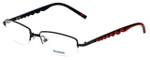 Reebok Designer Eyeglasses R1001-BLK in Black 52mm :: Progressive
