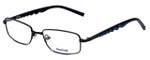Reebok Designer Eyeglasses R1002-BLK in Matte-Black 51mm :: Progressive