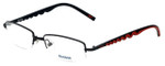 Reebok Designer Eyeglasses R1001-BLK in Black 52mm :: Rx Bi-Focal