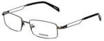 Reebok Designer Eyeglasses R2021-GUB in Gunmetal 54mm :: Rx Bi-Focal