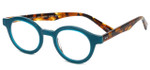 EyeBobs Designer Reading Glasses TV Party 2236 59 in Teal & Tortoise